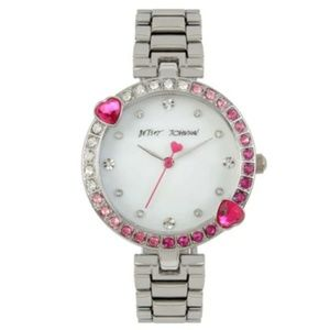 NWT Betsey Johnson Sweethearts Forever Watch